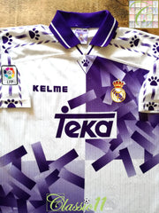 1996/97 Real Madrid 3rd La Liga Football Shirt (L)