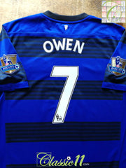 2011/12 Man Utd Away Premier League Football Shirt Owen #7 (L)