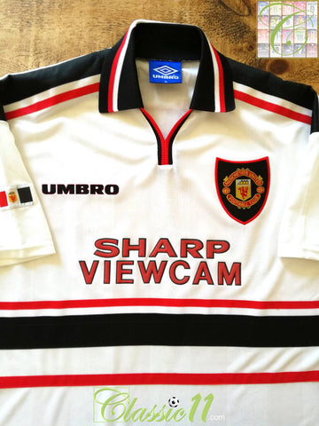 1997/98 Man Utd Away Football Shirt (XL)