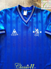 1985/86 Chelsea Home Football Shirt (Y)