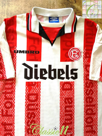 1996/97 Fortuna Düsseldorf Home Football Shirt (XXL)