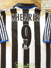 2000/01 Newcastle United Home Premier League Football Shirt Shearer #9 (XL)
