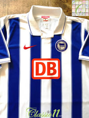 2009/10 Hertha Berlin Home Football Shirt (XL)