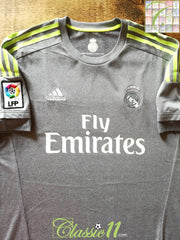 2015/16 Real Madrid Away La Liga Football Shirt (L)