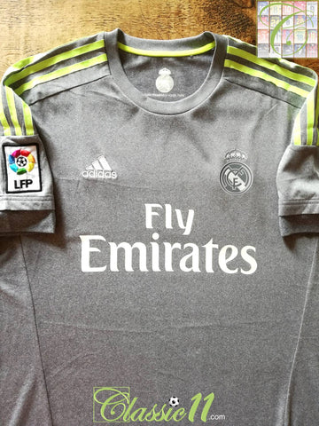 2015/16 Real Madrid Away La Liga Football Shirt (XL)