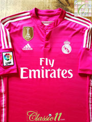 2014/15 Real Madrid Away World Champions Football Shirt (L)