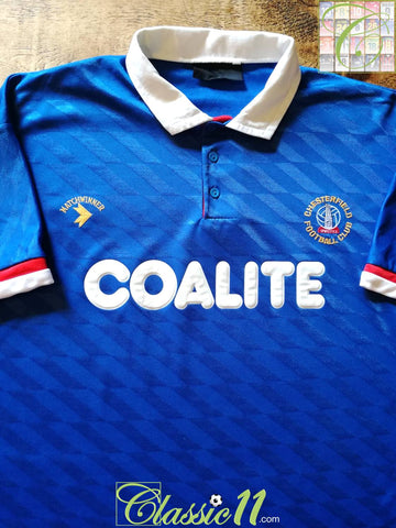 1990/91 Chesterfield Home Football Shirt (L)