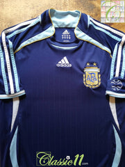 2006/07 Argentina Away Football Shirt (XL)