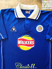 2000/01 Leicester City Home Football Shirt (XL)
