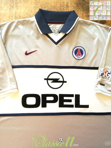2000/01 PSG Away Football Shirt (L)