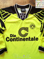 1994/95 Borussia Dortmund Home Football Shirt. (XL)