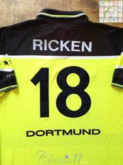 1997/98 Borussia Dortmund Home Football Shirt Ricken #18 (L)