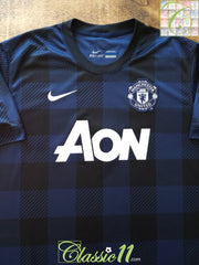 2013/14 Man Utd Away Football Shirt (S)