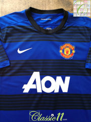 2011/12 Man Utd Away Football Shirt (S)