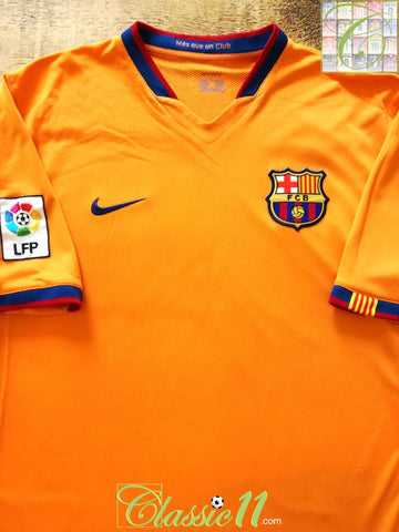 2006/07 Barcelona Away La Liga Football Shirt (L)