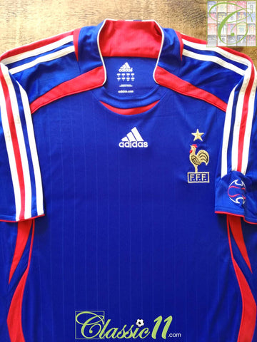 2006/07 France Home Football Shirt (L)