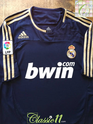 2007/08 Real Madrid Away La Liga Football Shirt (L)