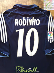 2005/06 Real Madrid Away La Liga Football Shirt Robinho #10 (L)