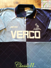 1991 Wycombe Wanderers Home F.A. Trophy Football Shirt (L)