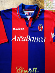 1999/00 Bologna Home Football Shirt (XL)