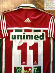 2002 Fluminense Home Football Shirt #11 (M)