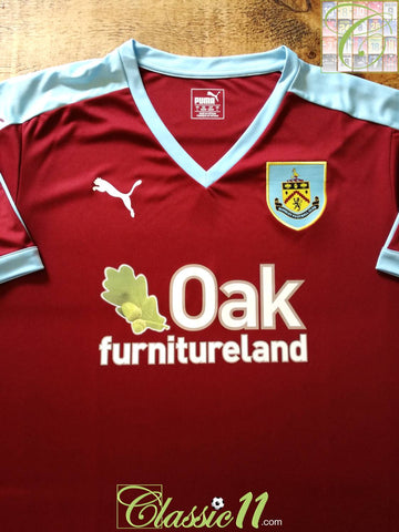 2015/16 Burnley Home Football Shirt (XL)