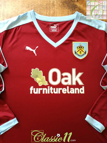2015/16 Burnley Home Football Shirt. (XL) *BNWT*
