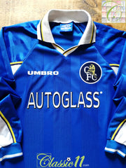 1997/98 Chelsea Home Football Shirt. (XL)