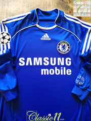 2006/07 Chelsea Home Champions League Football Shirt. (S)