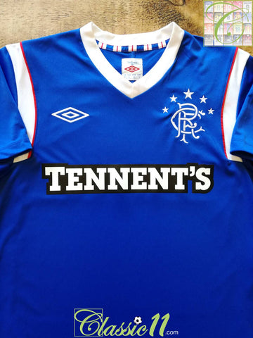 2011/12 Rangers Home Football Shirt (S) *BNWT*