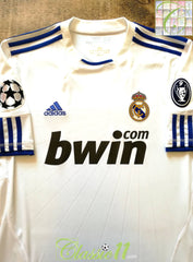 2010/11 Real Madrid Home Champions League Football Shirt (M)