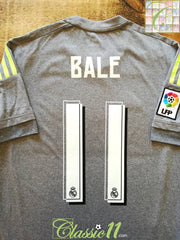 2015/16 Real Madrid Away La Liga Football Shirt Bale #11 (S)
