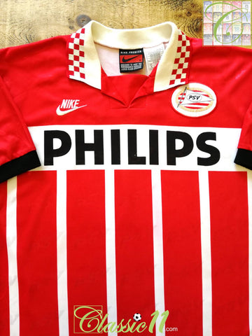 1995/96 PSV Eindhoven Home Football Shirt (XL)