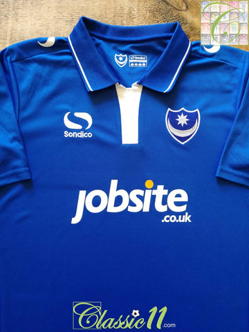 2015/16 Portsmouth Home Football Shirt (L)