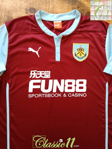 2014/15 Burnley Home Football Shirt (XXL)