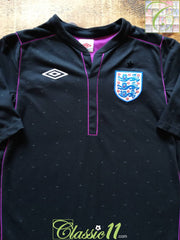 2010/11 England Goalkeeper Football Shirt (M)