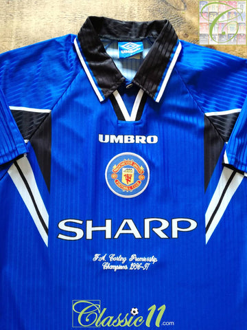 1996/97 Man Utd 3rd Premiership Champions Football Shirt (M) *BNWT*
