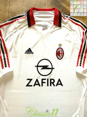 2005/06 AC Milan Away Football Shirt (XXL)