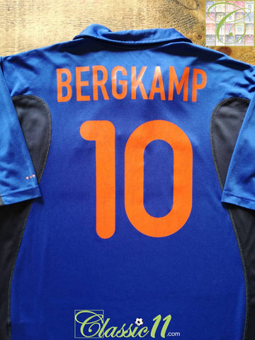 2000/01 Netherlands Away Shirt Bergkamp #10 (L)