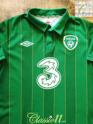 2011/12 Republic of Ireland Home Football Shirt (M)