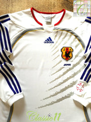 2006/07 Japan Away Football Shirt. (M)