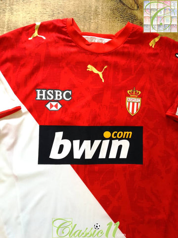 2006/07 Monaco Home Football Shirt (XL)