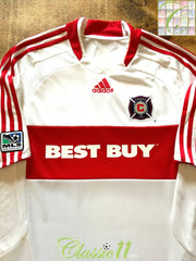 2008 Chicago Fire Away MLS Football Shirt (L)