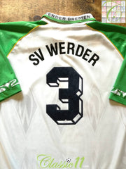 1995/96 Werder Bremen Home Football Shirt #3 (XL)