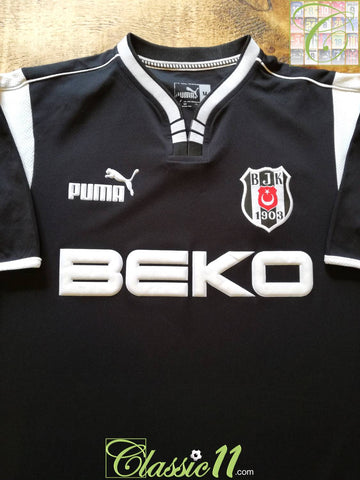 2001/02 Beşiktaş Away Football Shirt (M)