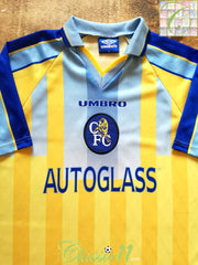 1997/98 Chelsea Away Football Shirt (L)