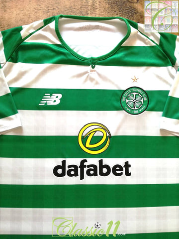 2018/19 Celtic Home Football Shirt (3XL)