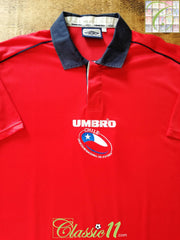 2000/01 Chile Home Football Shirt (L)
