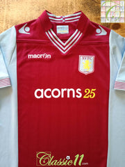 2013/14 Aston Villa Home Football Shirt (B)