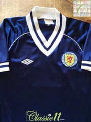 1982/83 Scotland Home Football Shirt (S)